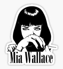 Mia Wallace Sticker