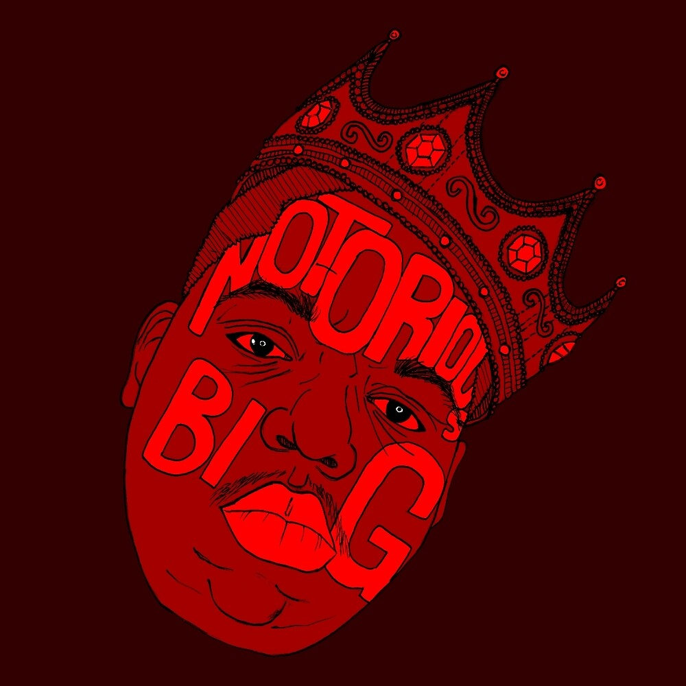 Notorious B.I.G by HHillustrations