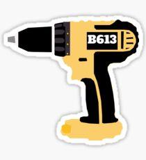 B613 Drill Sticker