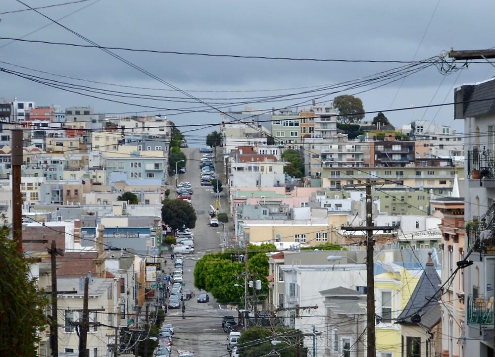 Hills of San Francisco by BecHalp