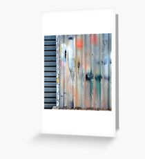 """Aerosol Alley"" Greeting Card"