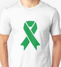 mental health awareness ribbon - single  Unisex T-Shirt