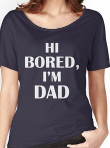 Dad Jokes (White) Women's Relaxed Fit T-Shirt