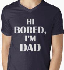 Dad Jokes (White) Men's V-Neck T-Shirt