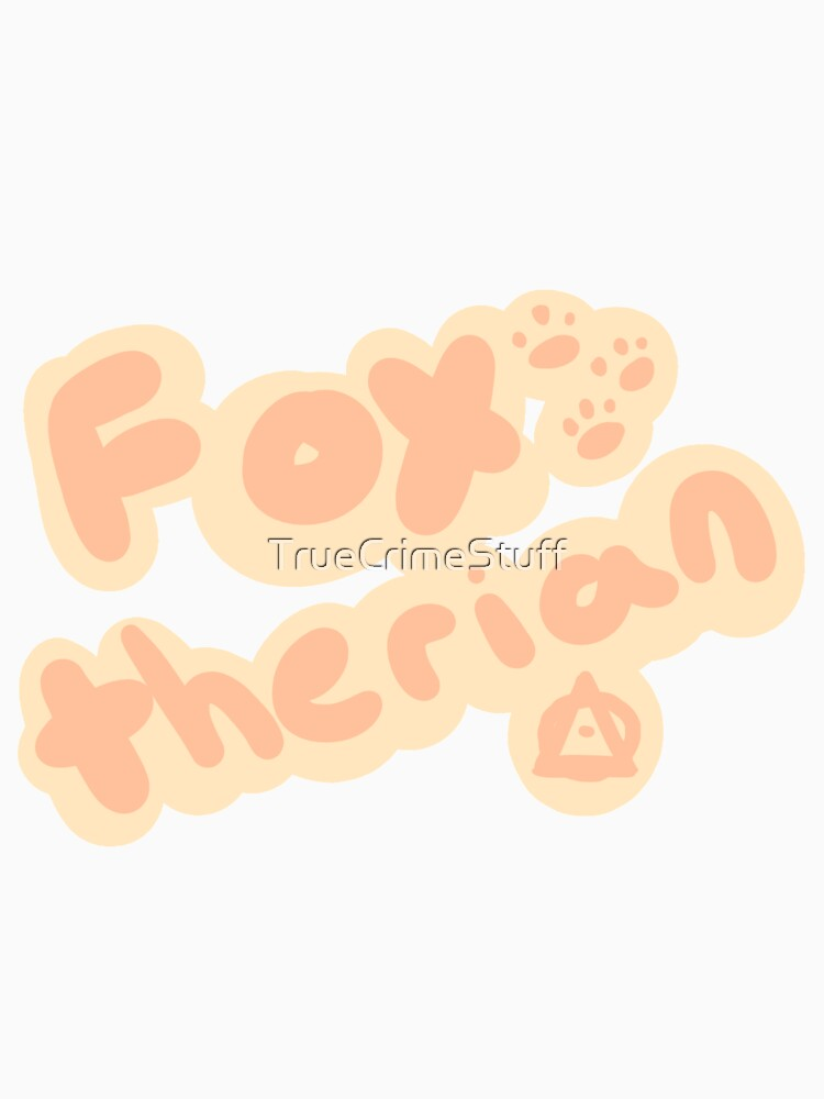 Fox Therian by TrueCrimeStuff