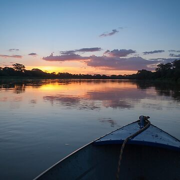 Sunset - Rio Pardo, Brazil by cooksee