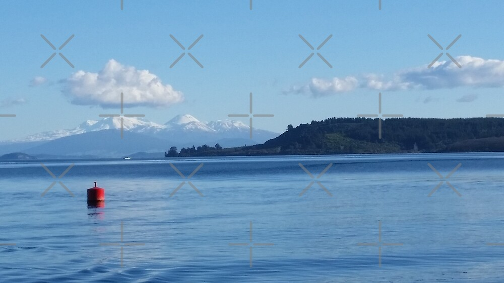 Lake Taupo by Colour Angel by KV