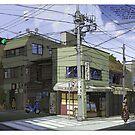 Osenbi Shop Nezu Tokyo by David  Kennett