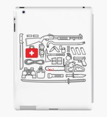 Zombie Survival Kit iPad Case/Skin