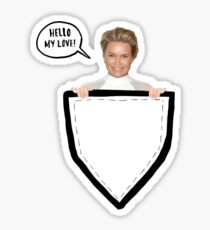 HELLO MY LOVE! Yolanda Foster Pocket Deco Sticker