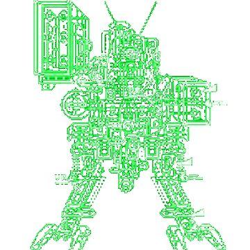 Metal Gear D Schematic by CWspatula