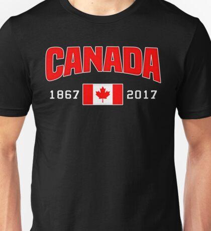 Canada 150 Anniversary Unisex T-Shirt