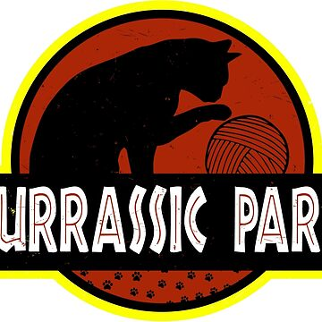 Purrassic Park by gignpixel