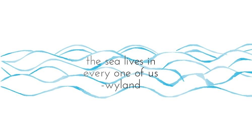ocean quote by graciekieffer