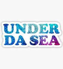 Under Da Sea Sticker
