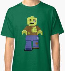 Zombie Lego Man Classic T-Shirt