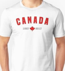 Canada 150 Anniversary Maple leaf T-Shirt