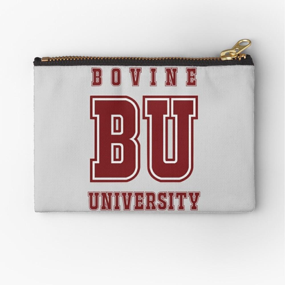 Bovine University - The Simpsons Zipper Pouch