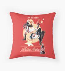 Nuka-Cola pin-up Throw Pillow