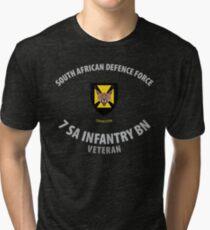 SADF 7 SA Infantry Battalion Veteran Shirt Tri-blend T-Shirt
