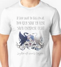 Sophie Of Woods Beyond Quote T-Shirt