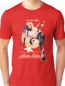 Nuka-Cola pin-up Unisex T-Shirt