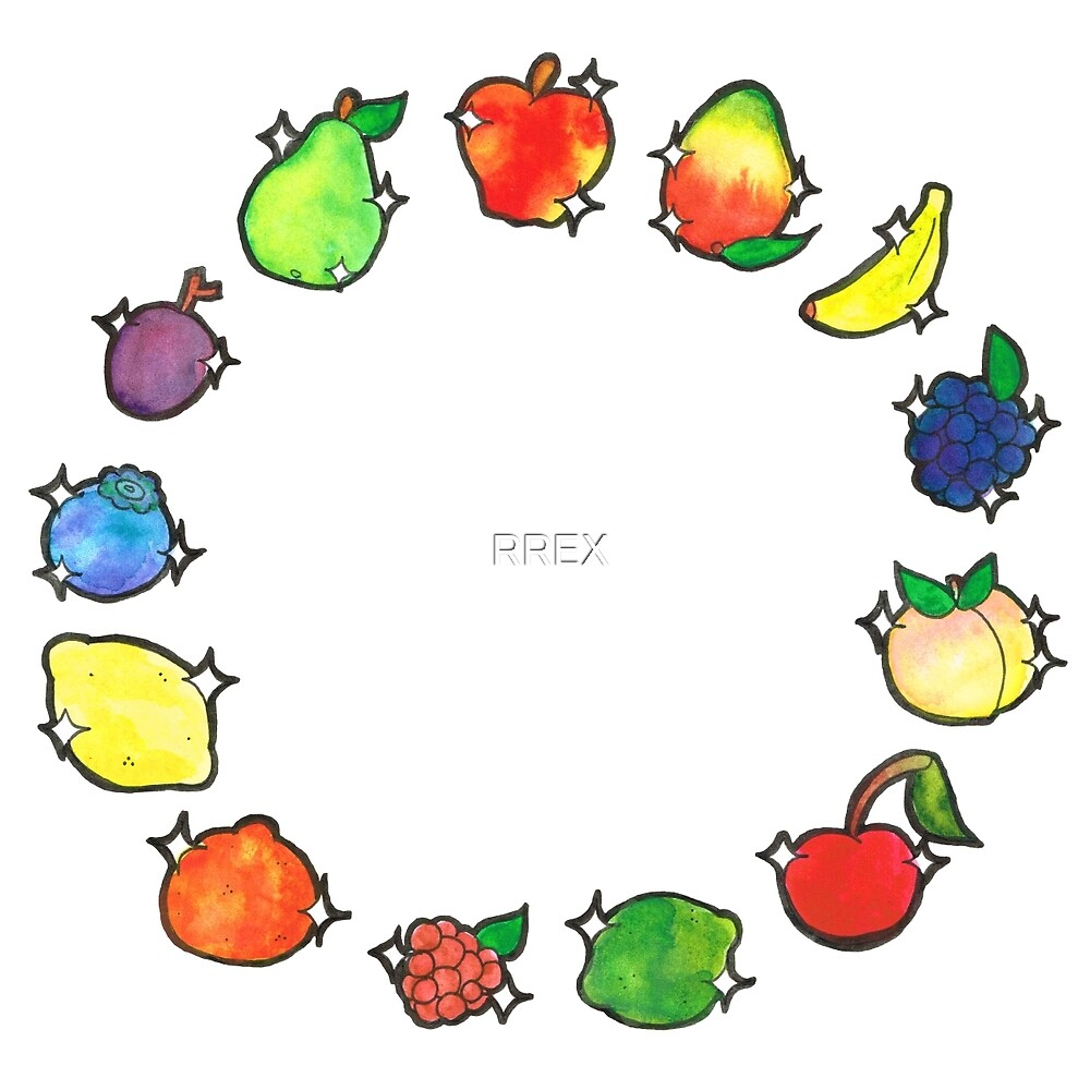 Some Cutie Fruits! by RREX