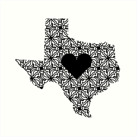 Texas Home by TangleBoBangle
