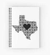 Texas Zuhause Spiralblock