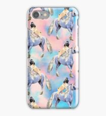 Pug Riding a Unicorn iPhone Case/Skin