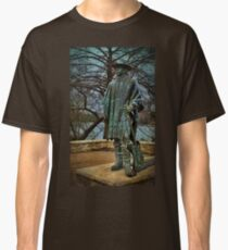 Stevie Ray Vaughan Statue Classic T-Shirt