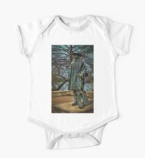 Stevie Ray Vaughan Statue One Piece - Short Sleeve