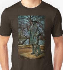 Stevie Ray Vaughan Statue Unisex T-Shirt