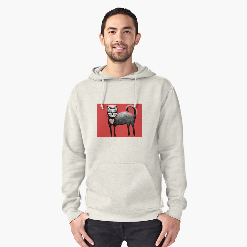 Puss Pullover Hoodie Front