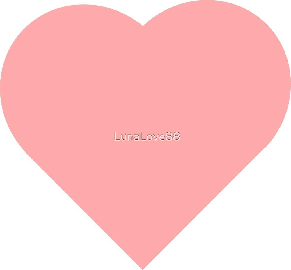 pink heart by LunaLove88
