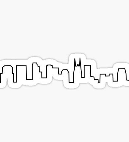 Nashville, TN skyline Sticker