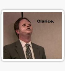 Dwight - Clarice Sticker