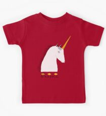 Skeptical Unicorn  Kids Tee