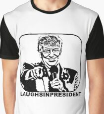 Laughs In President Graphic T-Shirt