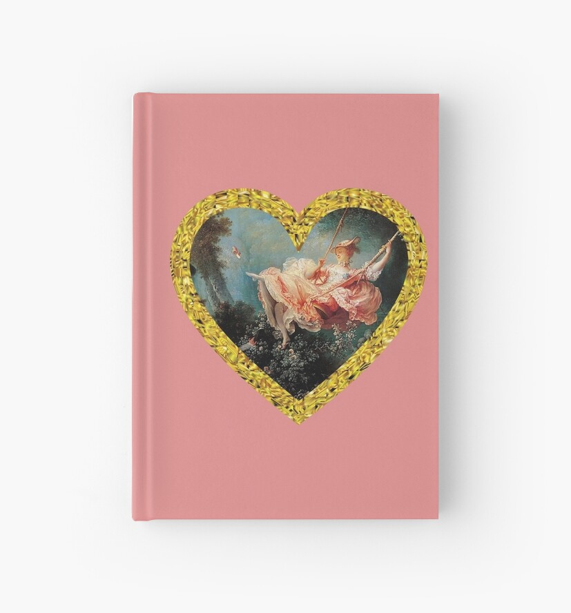 The Swing Heart Shaped Artwork by sparklehorsette