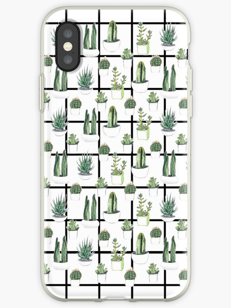 cactus grid by Gloria Lam