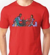 Leia and Lando (The Cardsharps) T-Shirt
