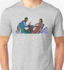 Leia and Lando (The Cardsharps) Unisex T-Shirt