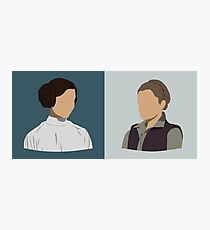 Leia Organa Double Bust Photographic Print