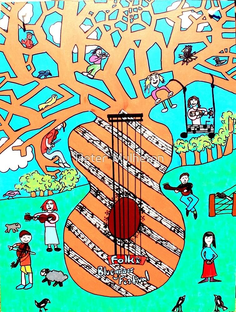 Bluegrass panel3 by Peter  Mulheron