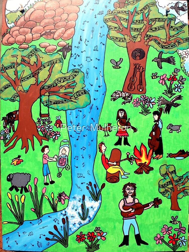 Bluegrass panel 2 by Peter  Mulheron
