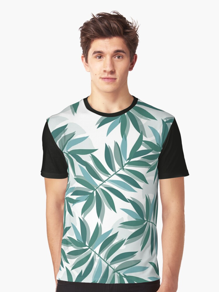 MIAMI PALM TREES Graphic T-Shirt Front