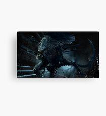 Alien Queen Xenomorph Canvas Print