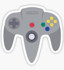 Nintendo 64 Controller Design Sticker