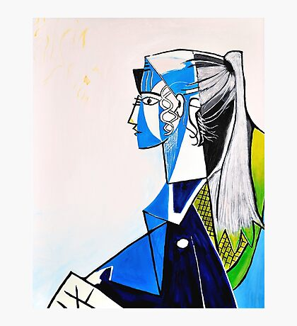 Sylvette - Tribute to Pablo Picasso Photographic Print
